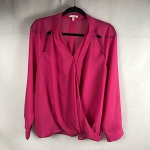 Maurices XL Balloon blouse Long sleeves surplice